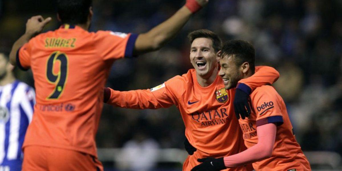 Así responde Messi a Ronaldo