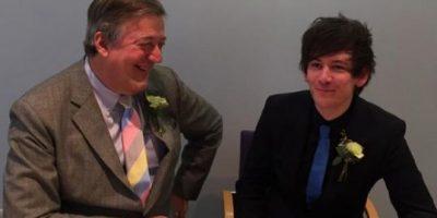 """FOTOS. Actor de """"The Hobbit"""" se casa con su novio 30 años menor"""
