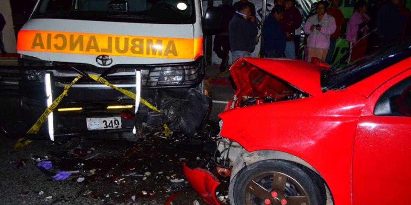 El accidente ha sucedido el sábado por la noche. Foto:CVB