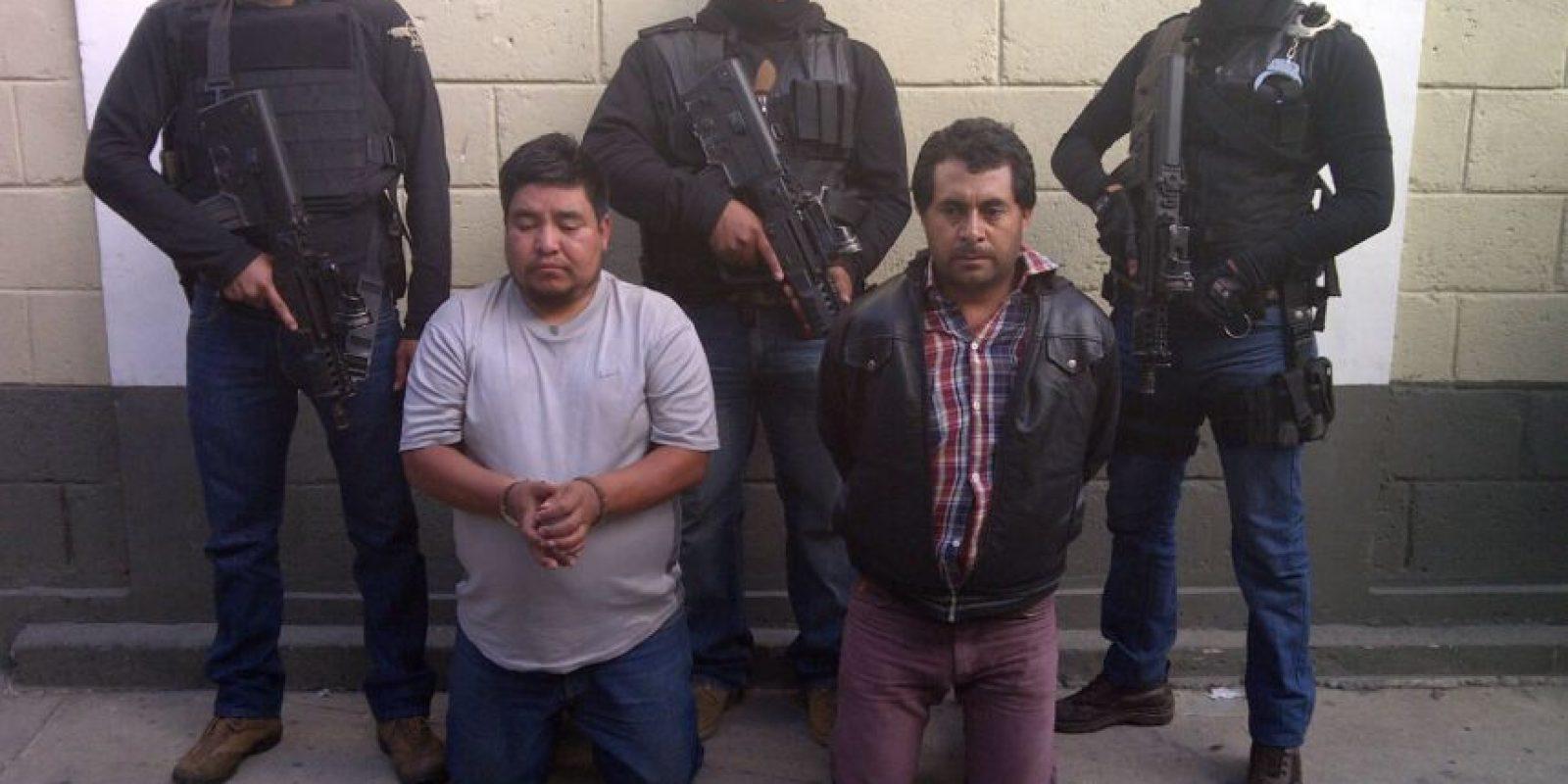 Agentes los habían ubicado. Foto:PNC