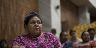 Rigoberta Menchú es querellante. Foto:Publinews