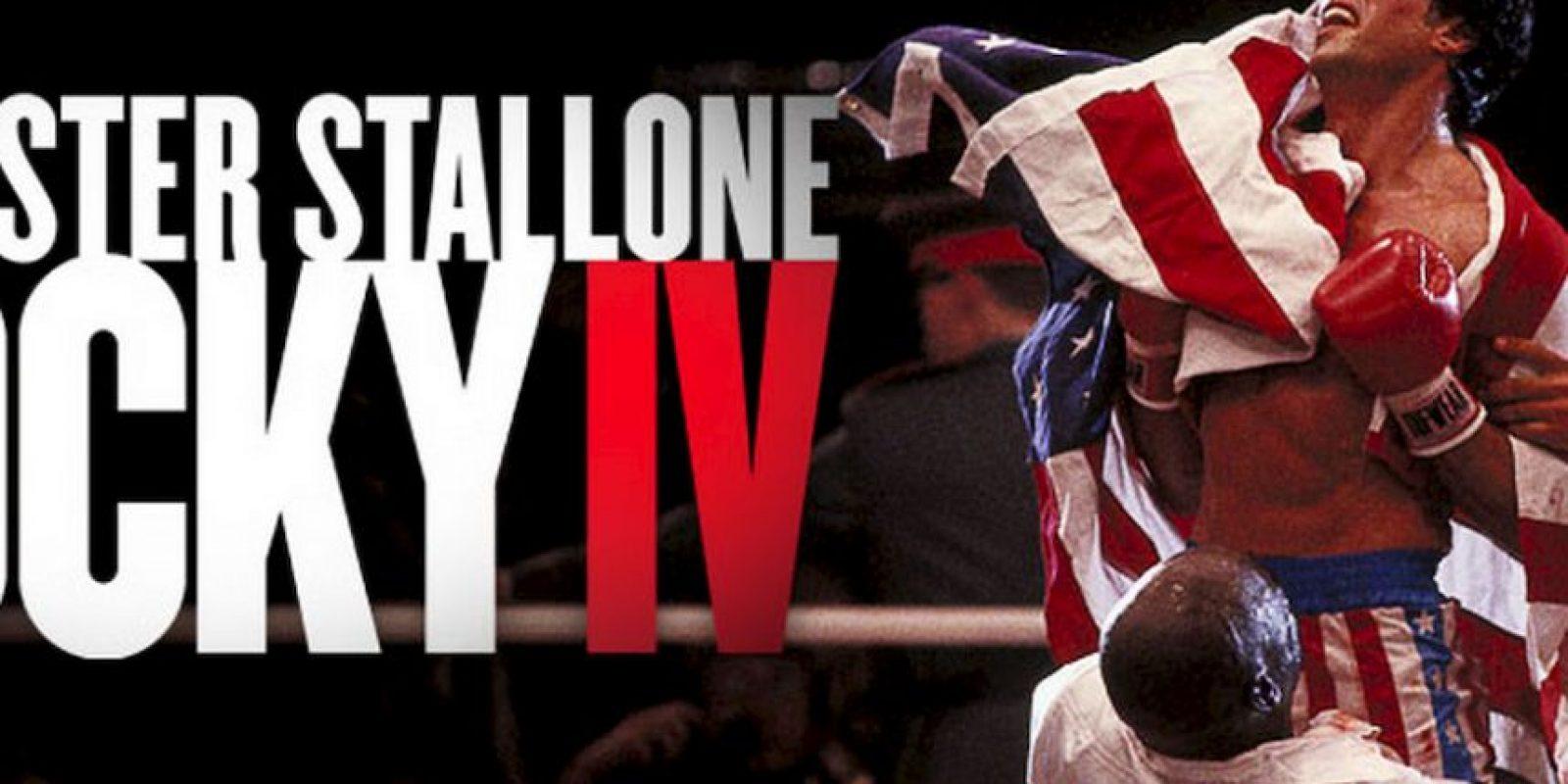 "El estreno de la película ""Rocky IV"" Foto:MGM/UA Entertainment Co"