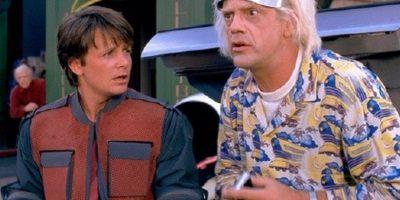 """El estreno de la película """"Volver al Futuro"""" Foto:Universal Pictures"""