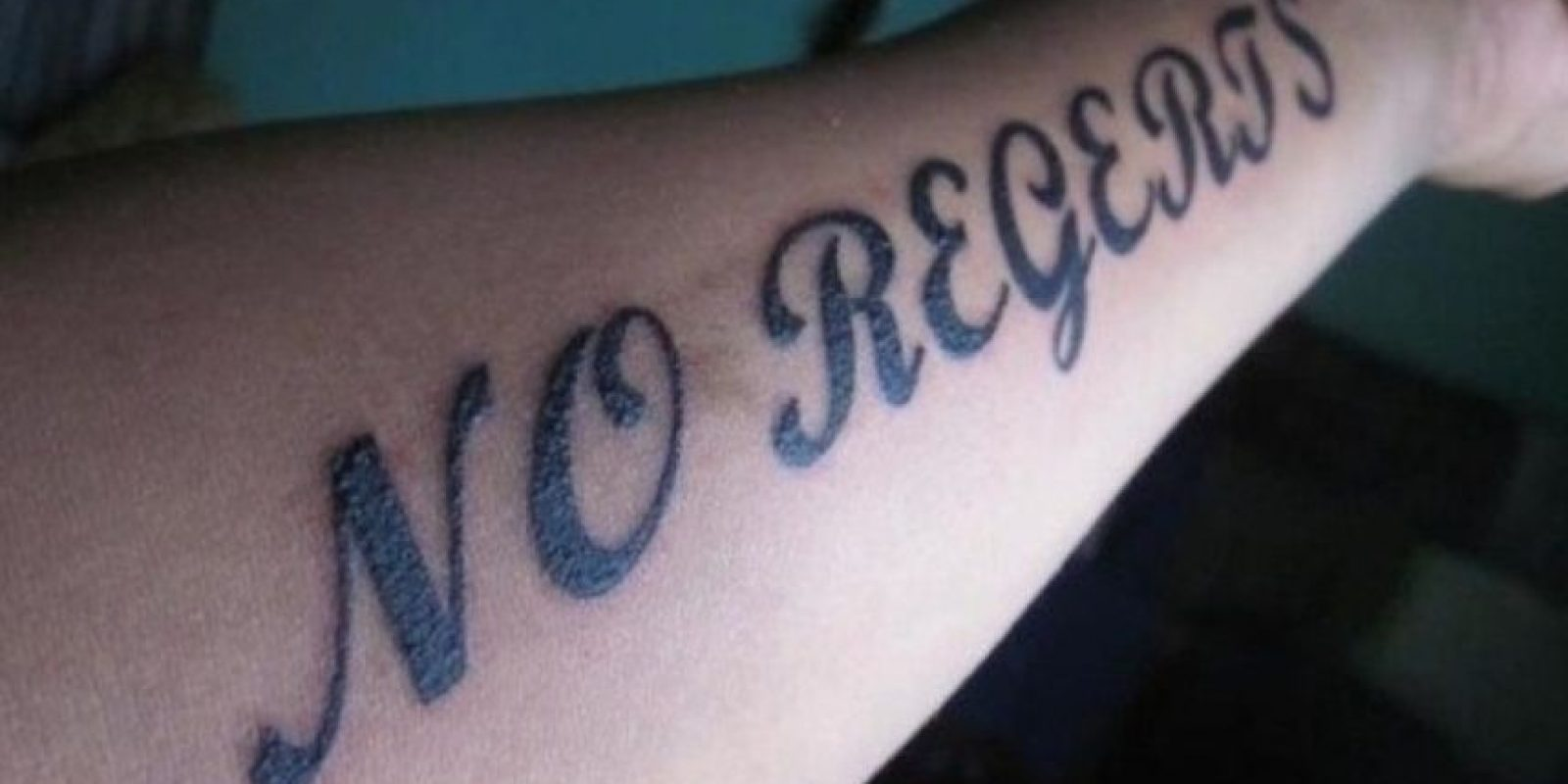 Regrets, regrets! Foto: worldwideinterweb