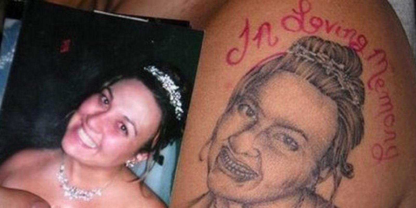 ¿En serio cree que es ella? Foto:Fugly