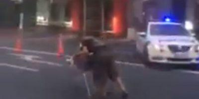 VIDEO: Un ladrón se convirtió en