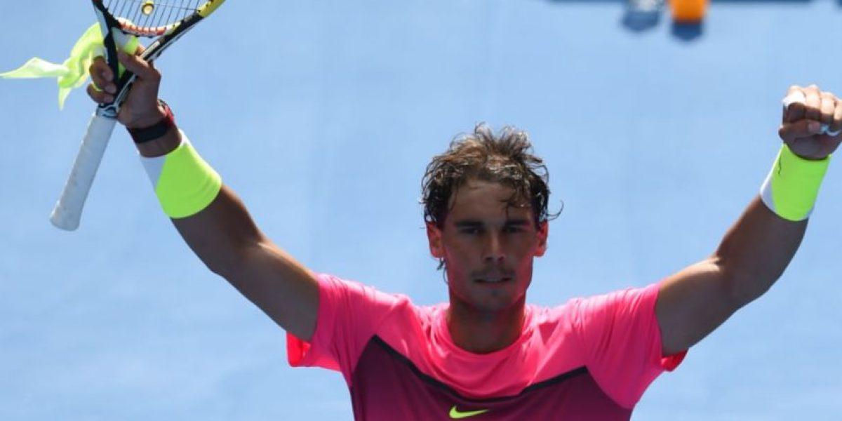 FOTOS. Nadal, Federer y Sharapova brillan en Australia