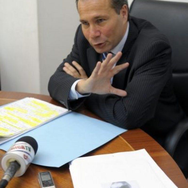 """El funcionario había señalado a la Presidenta de Argentina, Cristina Fernández de Kirchner, como responsable de una """"confubalación criminal"""" en el caso AMIA. Foto:AFP"""