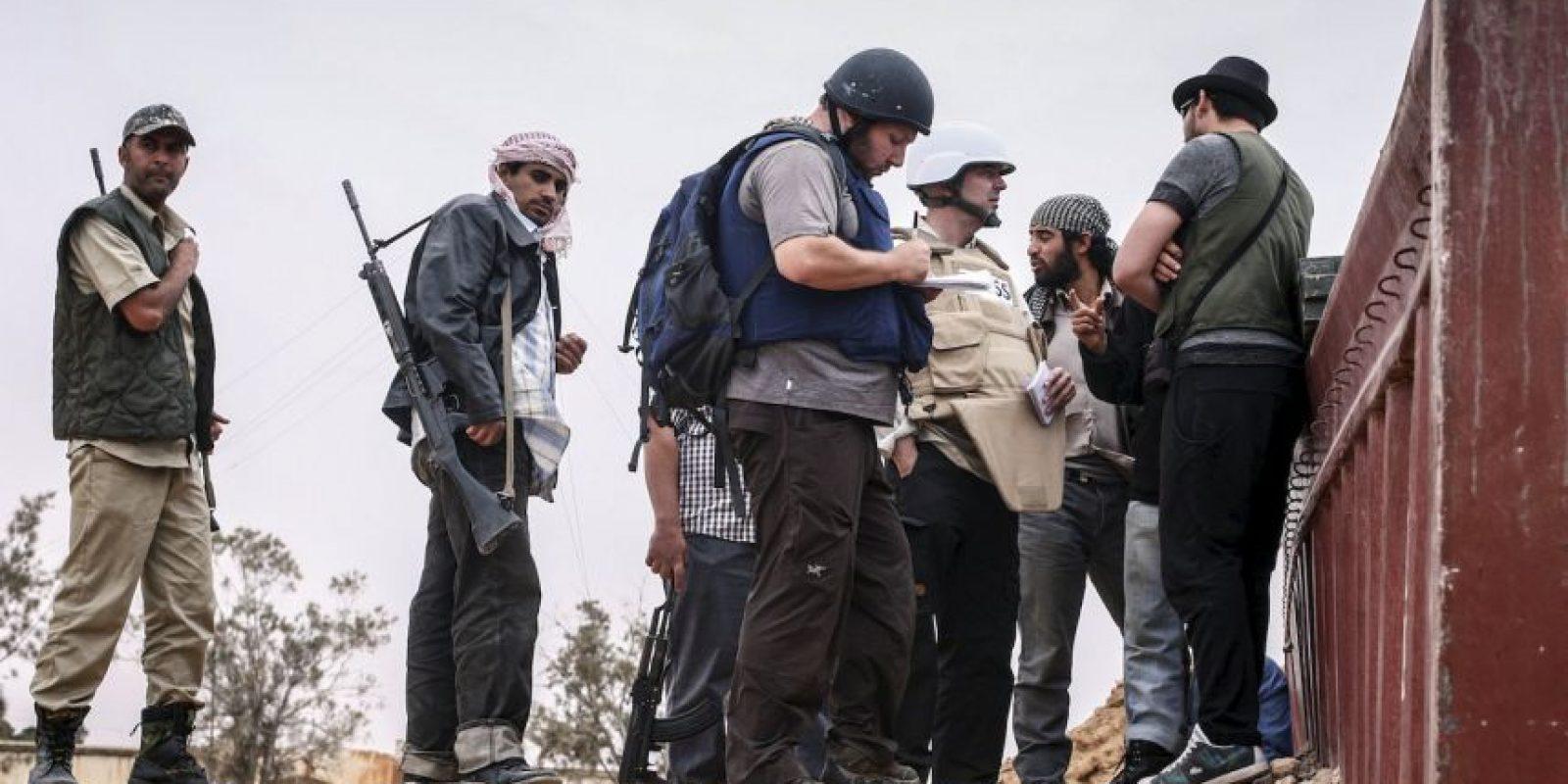 El periodista Steven Sotloff también fue decapitado por el grupo terrorista. Foto:Getty
