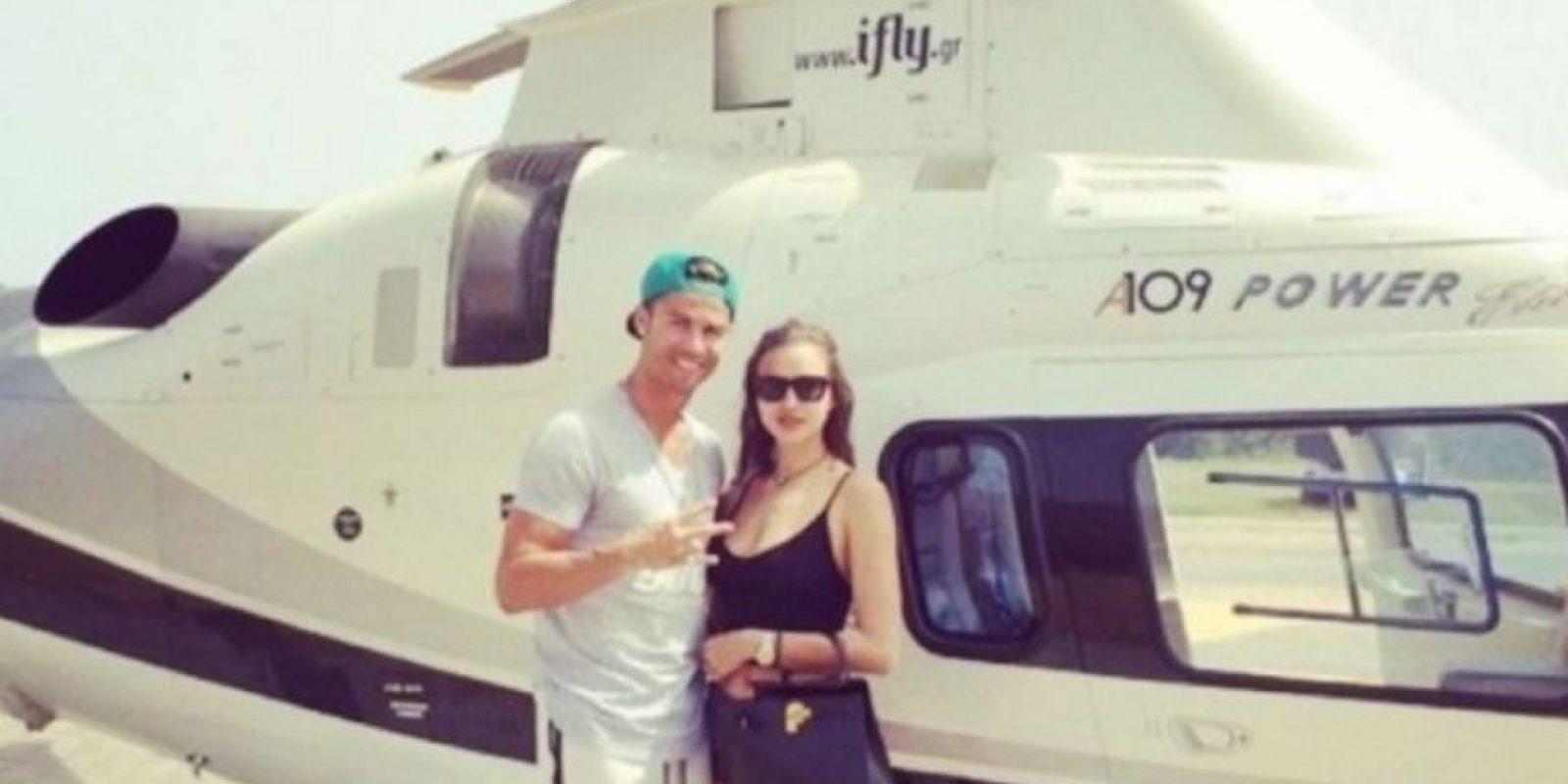 La pareja terminó después de cinco años de relación Foto:Instagram: @cristiano