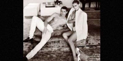 La pareja presumía su amor en la revista de moda. Foto:instagram.com/irinashayk
