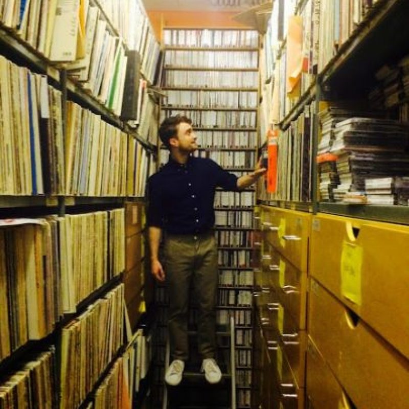 Tiene cierta debilidad por las librerias Foto:Google +/Daniel Radcliffe
