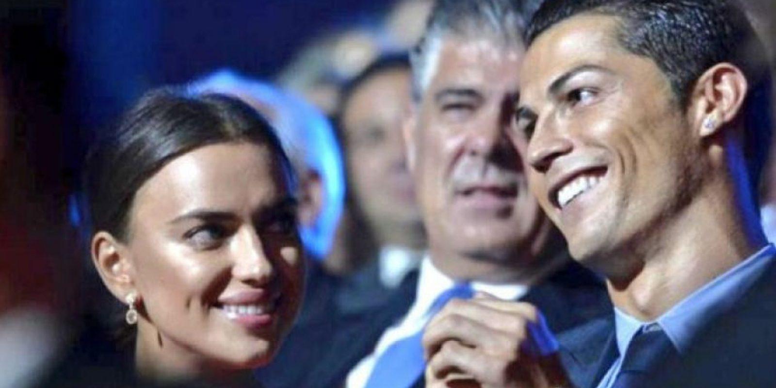 Antes de su separación, Irina y Cristiano disfrutaron en pareja. Foto:Twitter
