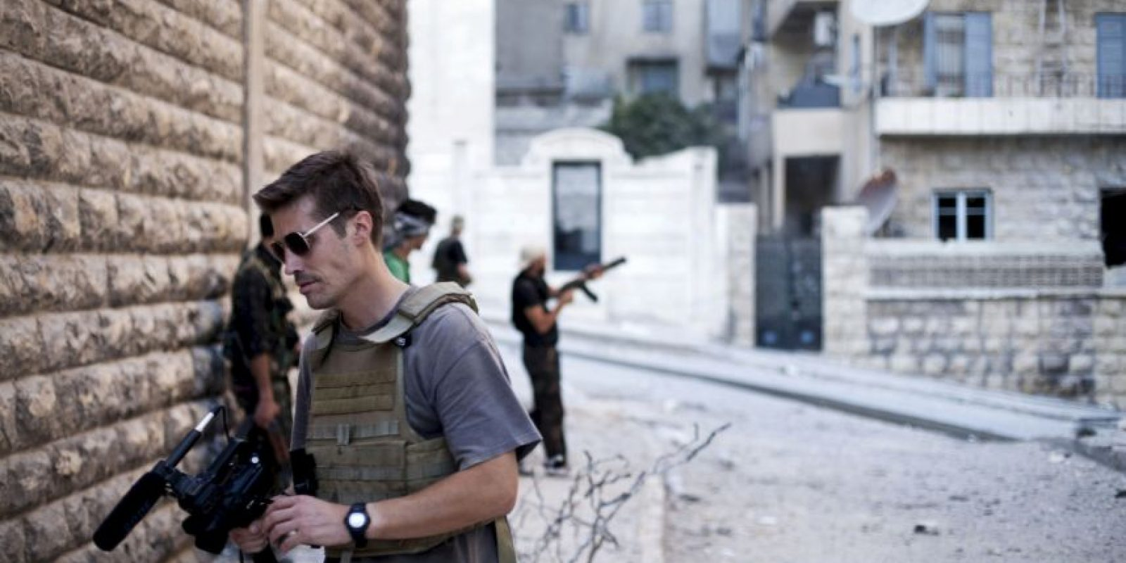 El periodista James Foley, quien fue decapitado por ISIS. Foto:AP