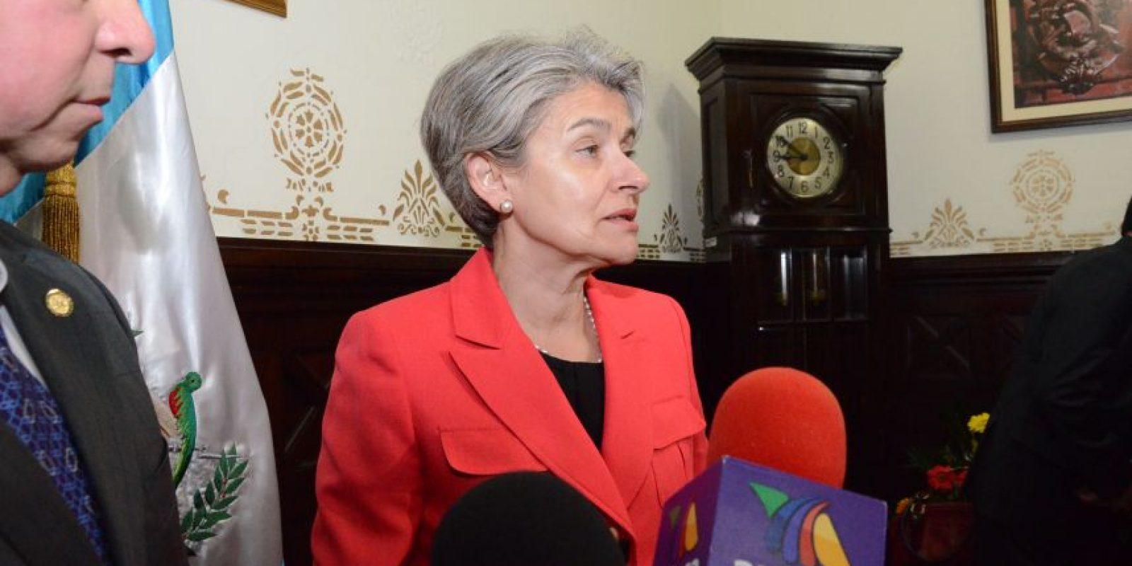 Irina Bokova dará su conferencia hoy. Foto:José Castro/Congreso