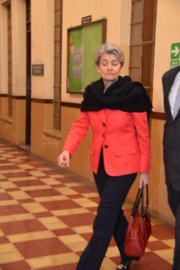 Irina Bokova. Foto:José Castro/Congreso