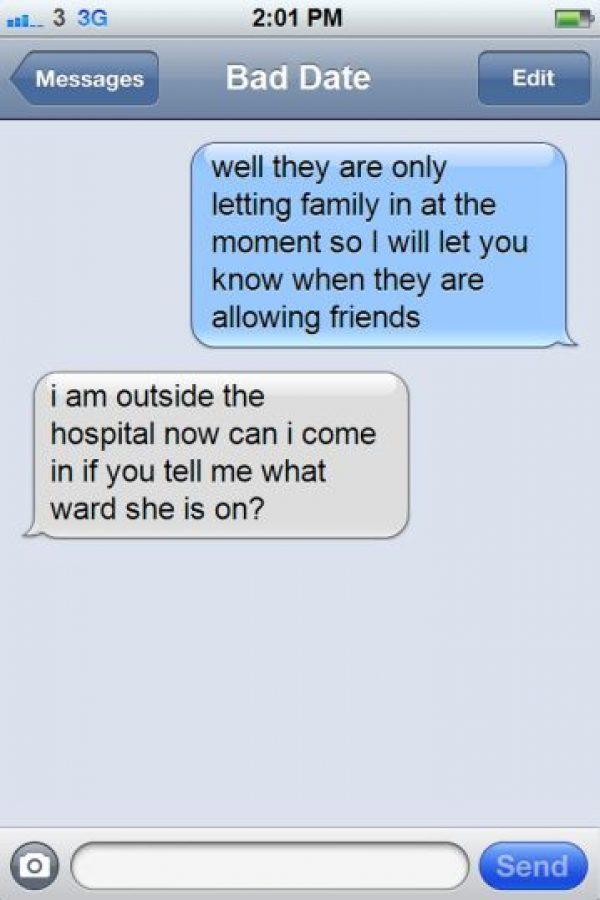Luego fingió que su hermana contestaba por ella. Foto:AnnGray