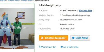 La compañía afirma en su página web que está dispuesta a sacar 3500 juguetes diarios Foto:Hongyitoys