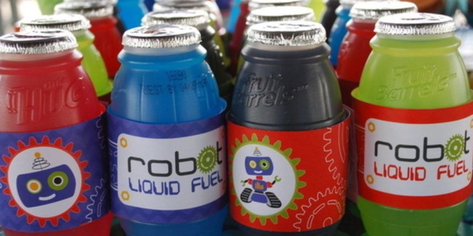 Refrescos de robot. Foto:Pinterest