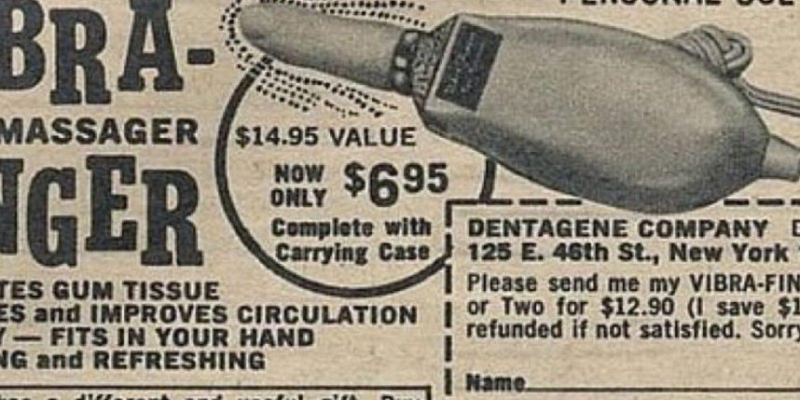 """Este vibrador """"mejoraba la circulación"""" y era muy específico. Foto:Gurl"""