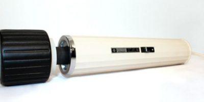 Este vibrador era de Hitachi, muy usado en los años 60 y 70. Pero su ergonomía… Foto:Gurl