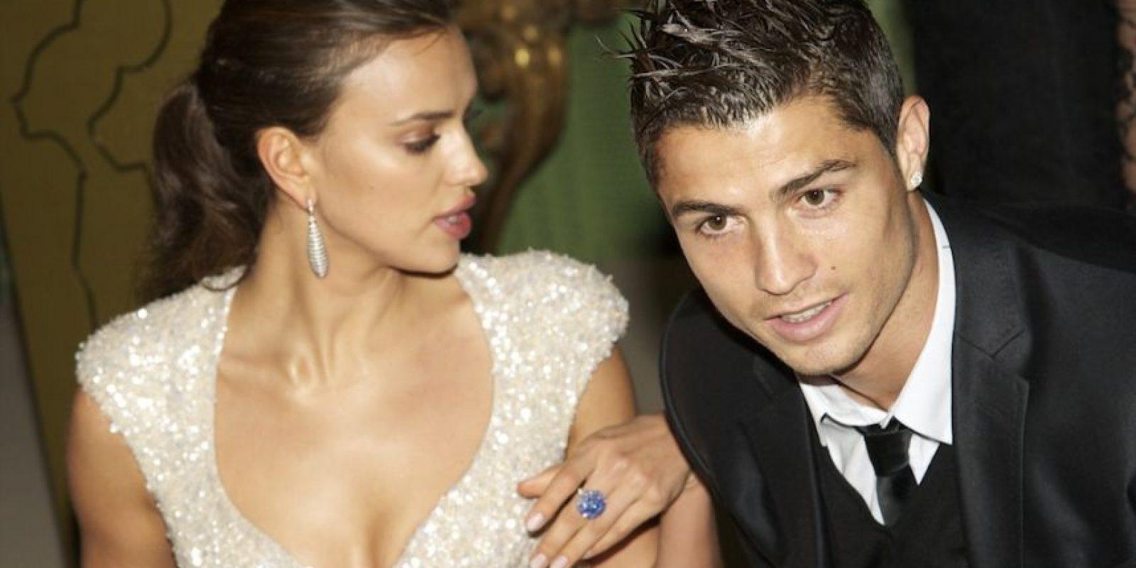 La modelo rusa y el futbolista portugués se separaron después de cinco años de relación en medio de una polémica sobre los motivos de la ruptura. Foto:Getty Images