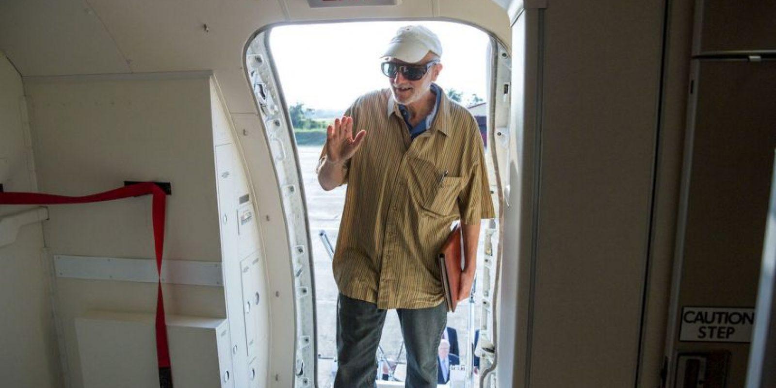 Alan Gross fue liberado el pasado mes de diciembre. Foto:Getty