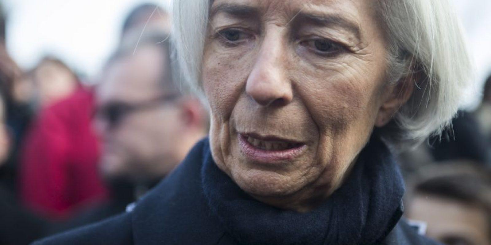 Christine Lagarde, directora del Fondo Monetario Internacional Foto:Getty