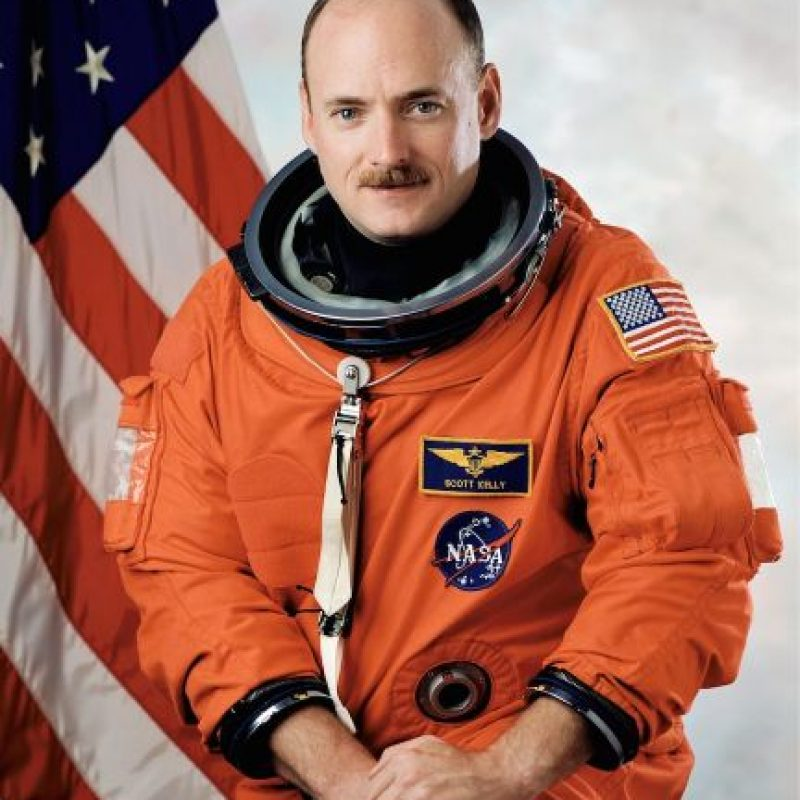 Otro invitado lo será el astronauta Scott Kelly. Este será el primer estadounidense que vivirá un año en la Estación Espacial Internacional. Foto:Getty