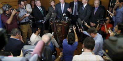 La comitiva estadounidense afirmó que se lograron grandes acuerdos en este primer encuentro. Foto:AP