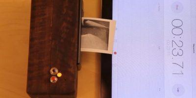 Las fotografías se imprimen en papel térmico cuyas hojas son de 3*1.75 pulgadas. No tiene precio ni fecha de comercialización. Foto:ch00ftech.com