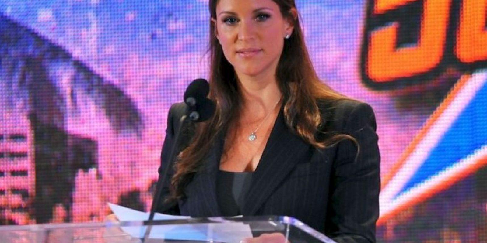 Stephanie McMahon: Descendiente del dueño de la WWE, Vince McMahon Foto:WWE