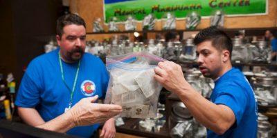 Imágenes de las primeras tiendas de marihuana en Colorado Foto:Getty Images