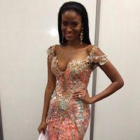 En 2011, fue la primera mujer de Angola que ganó este premio y la segunda mujer de color africana que se coronó entre las Miss Universo. Foto:Instagram/officialeilalopes
