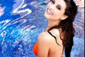 En 2008 ganó como Miss Venezuela y en 2009 se hizo acreedora al título de Miss Universo Foto:Twitter/StefaniaFKrupij