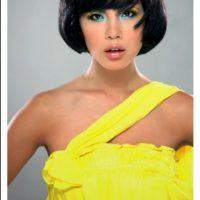 En 2007, fue la segunda japonesa que llevó la corona de Miss Universo al país asiático. Foto:en.riyo-mori.com