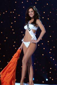 En 2005, fue la segunda canadiense, desde Karen Dianne Baldwin (1982) que recibió el título de Miss Universo. Foto:Getty Images