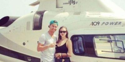 Los exóticos viajes de Shayk y Ronaldo en julio de 2014. Foto:instagram.com/cristiano
