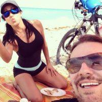 Mónica Noguera y Fher Olvera Foto:Instagram/monicanoguera