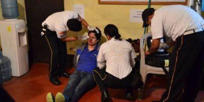 Diego David Canel Luna chocó un ambulancia el sábado. Foto:CVB