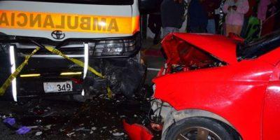 El accidente ocurrió en la ruta Interamericana. Foto:CVB