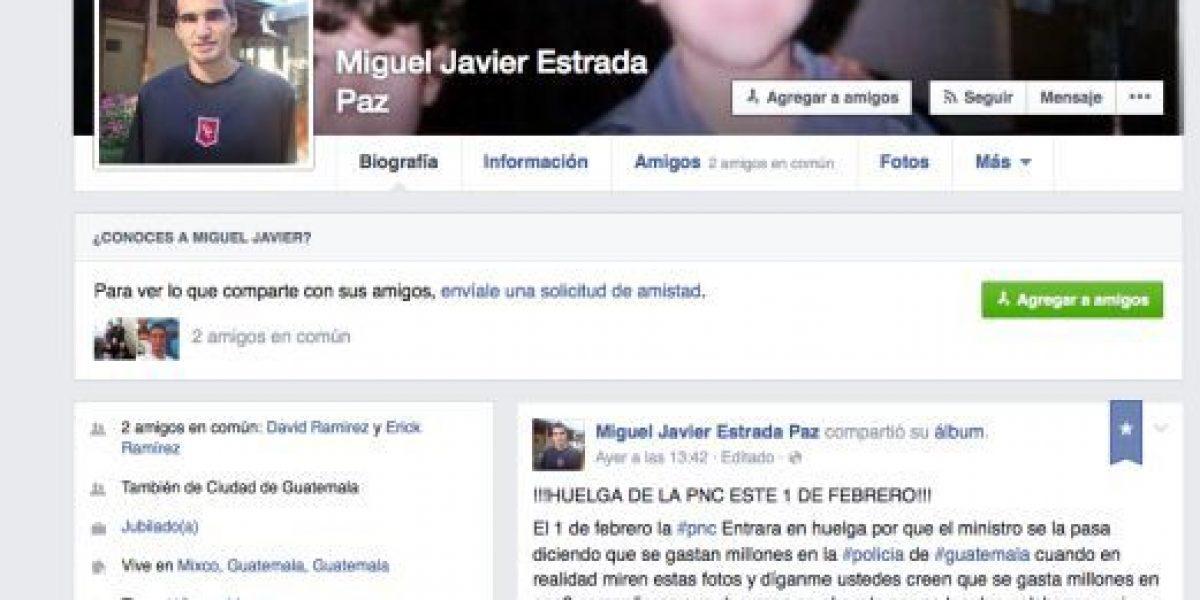 Desde Facebook hacen llamado a paro en la Policía