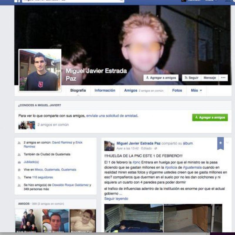 El anuncio en el perfil de Facebook. Foto:Publinews