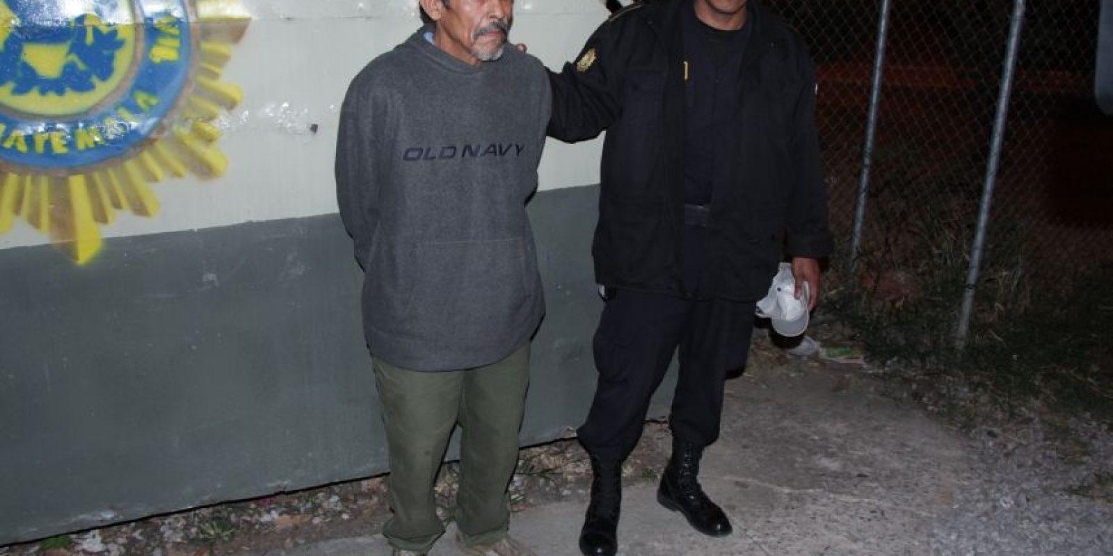 González Córtez tenía orden de captura. Foto:PNC
