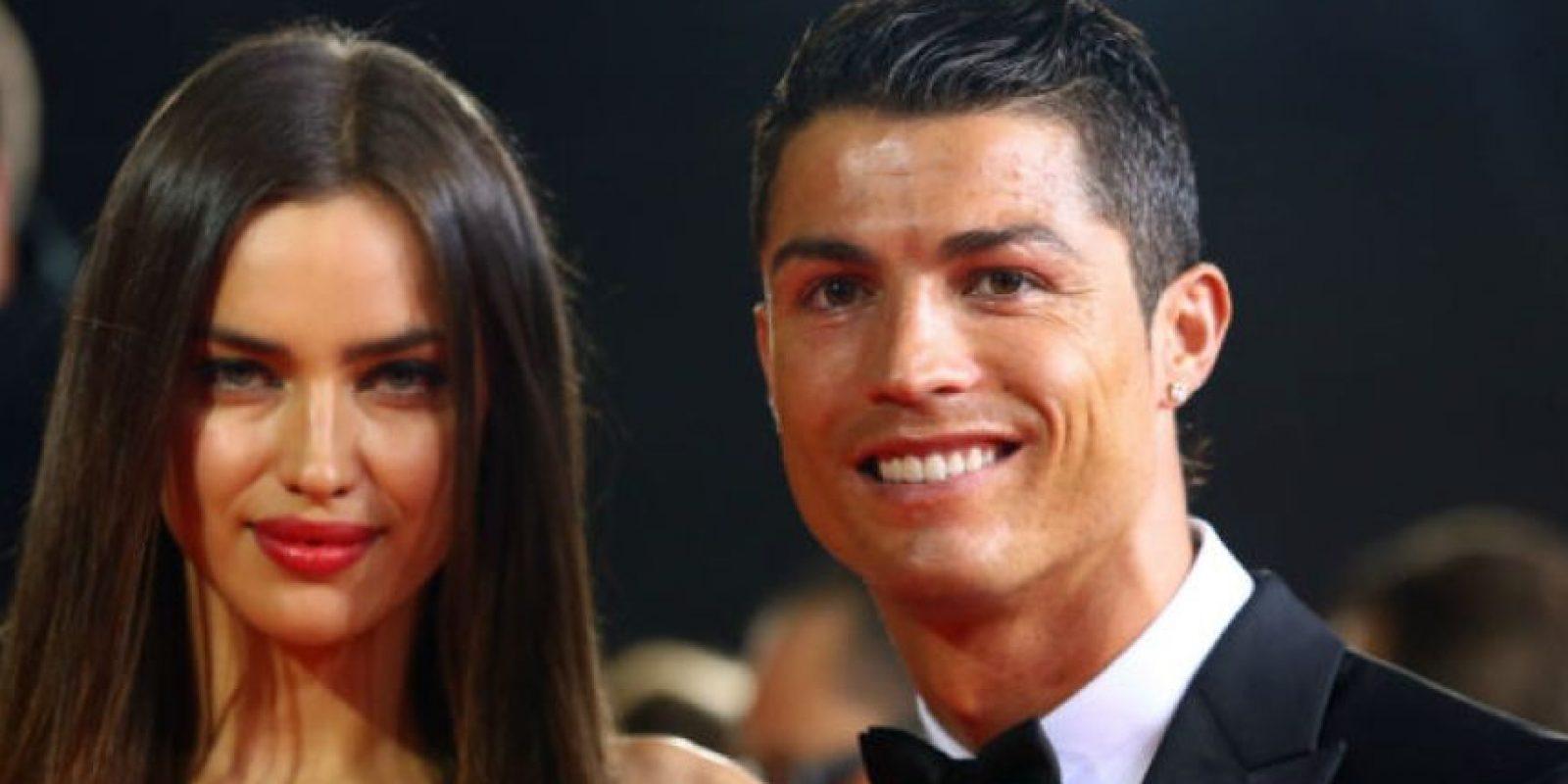 Irina Shayk y Cristiano Ronaldo terminaron su relación en la víspera del año nuevo. Foto:Getty Images