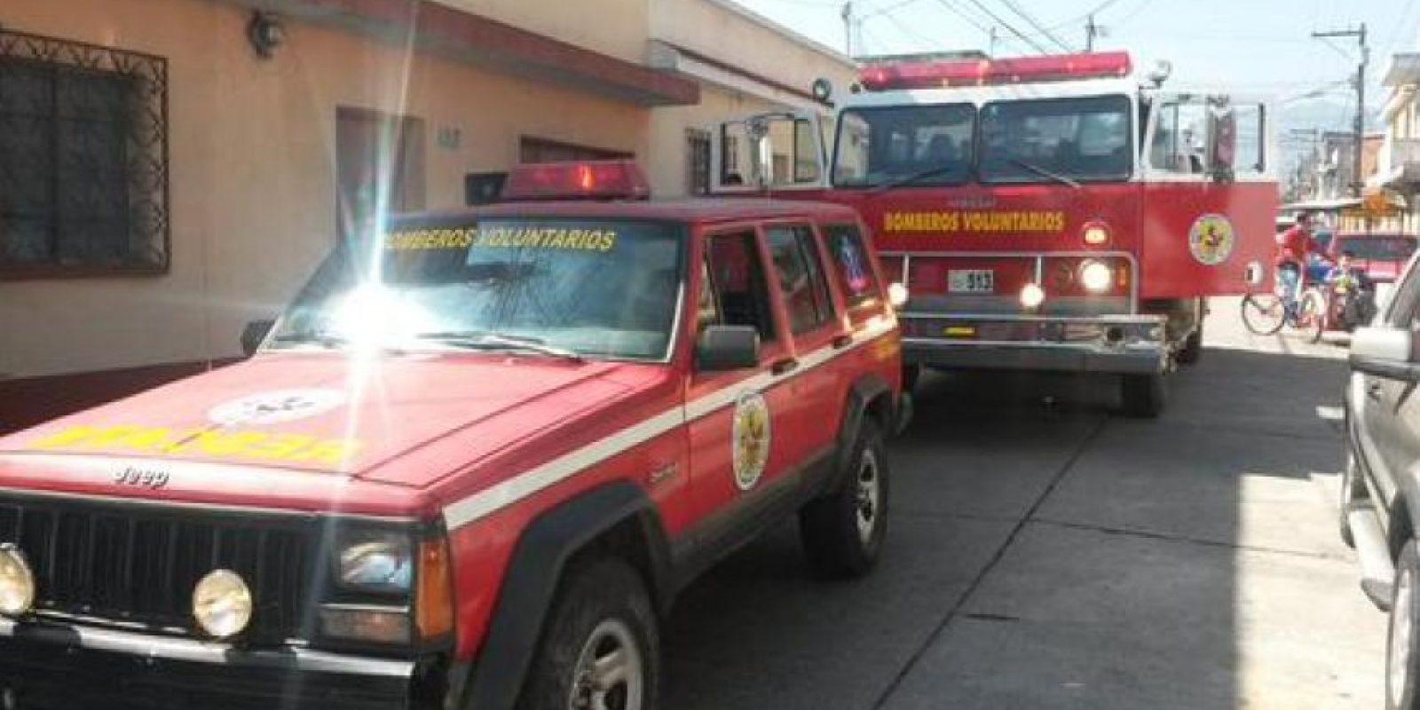 El incendio ocurrió en la colonia La Florida. Foto:CVB