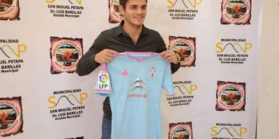 Presentan al hijo de Manuel Baldizón como nuevo jugador del Celta de Vigo