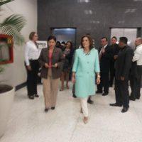 La fiscal Thelma Aldana y Ana Botella, alcaldesa de Madrid. Foto:MP