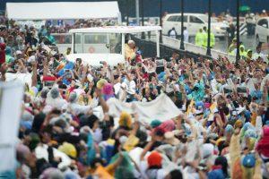 En Filipinas, el Pontífice fue muy bien recibido. Foto:Getty Images
