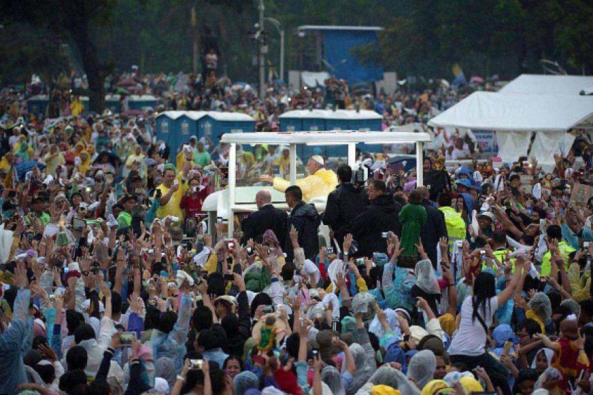 Más de seis millones de personas fueron a verlo. Foto:Getty Images